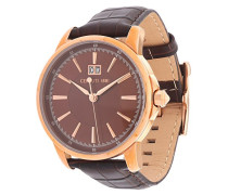 Cerruti Herren-Armbanduhr Analog Quarz Leder CRA072A233B