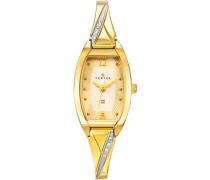 Damen-Armbanduhr 631756 Analog Metall vergoldet