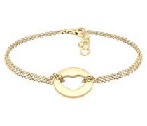 Damen-Armband Herz Liebe Münze Liebesbeweis Freundschaft vergoldet silber 925 0201190417_16