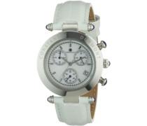 Damen-Armbanduhr Visage CD-VISL-QZ-LT-STST-WH