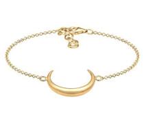 Armband Halbmond Astro Luna 925 Silber vergoldet 0212632916