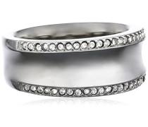 Damen-Ring Edelstahl Glaskristall weiß Gr.53 (16.9) SKJ0096040-6.5