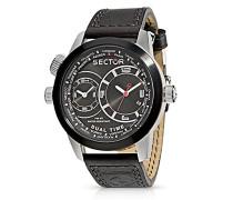 Herren  Armbanduhr   Oversize Dual Time R3251102125