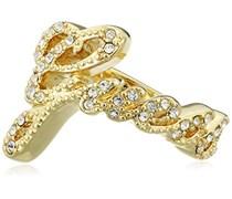 Guess Damen-Ring Vergoldet teilvergoldet Zirkonia weiß Gr. 54 (17.2) UBR21202-54
