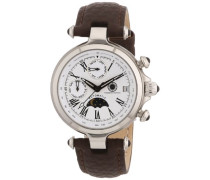 Damen-Armbanduhr XS Mirage Analog Automatik Leder CD-MIRL-AT-LT-STST-WH