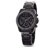Damen-Armbanduhr Chrono-Optik Swarovski Kristalle Analog Quarz 2015553