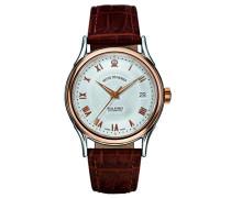 Herren-Armbanduhr WALLSTREET Analog Automatik Leder 20002.2552