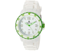Herren-Armbanduhr XL Analog Quarz Silikon BM603-586C