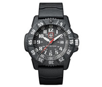 Carbon SEAL Herren-Armbanduhr Analog Quarz Kautschuk - XS.3801