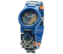 LEGO Unisex-Armbanduhr Nexo Knights Clay Analog Quarz Plastik 8020516