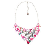Damen-Halskette Global traveller Versilbert-71G9EJ43047U