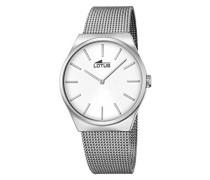 Herren-Armbanduhr Analog Quarz Edelstahl 18285/1