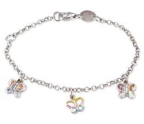 SCOUT Kinderschmuck, Armband 925 Sterling Silber, 16cm inkl. 2cm Verlängerung, 3 Anhänger handemailliert