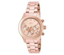 INVICTA Angel Damen-Armbanduhr Analog Edelstahl beschichtet - 19218