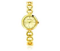 047j542–Elegance Seduction Damen-Armbanduhr 045J699Analog gold–Armband Messing Gold