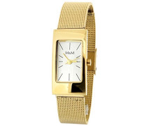 Damen-Armbanduhr Analog Quarz Edelstahl M11406-232