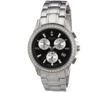 Damen-Armbanduhr XS Analog Edelstahl 12220795