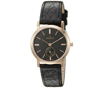 Damen-Armbanduhr 3050.1567 Analog Leder schwarz 3050.1567