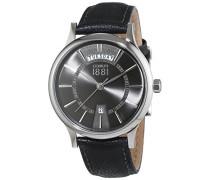 Herren-Armbanduhr VARALLO Analog Quarz Leder CRA128SN61BK