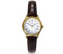 Damen-Armbanduhr Analog Formgehäuse weiss 4495.27