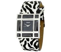 Damen-Armbanduhr Analog Quarz Kunstleder M11501-945