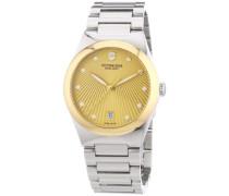 Swiss Army Damen-Armbanduhr XS Victoria Analog Quarz Edelstahl 241633