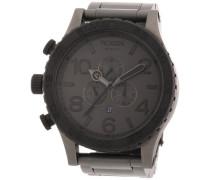 Herren-Armbanduhr XL The 51-30 Chrono Chronograph Quarz Edelstahl beschichtet A0831062-00