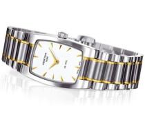 Damen-Armbanduhr XS Analog Quarz Edelstahl C012.109.22.031.00