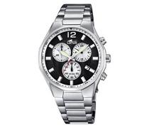 Herren-Armbanduhr Analog Quarz Edelstahl 10125/2