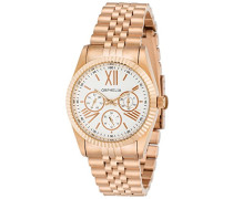 Damen-Armbanduhr Analog Quarz Edelstahl 82507