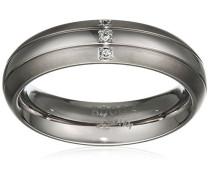 Damen-Ring Titan Diamant weiß,
