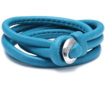 Grace Damen-Lederarmband türkis 18 cm LBC-02S-turquoise-18 cm