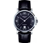 Certina Herren-Armbanduhr XL Analog Automatik Leder C017.407.16.057.01