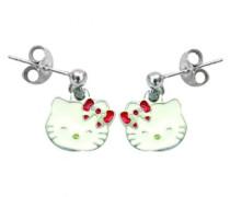 Hello Kitty K30021-Ohrringe Silber 925/1000/Stahl