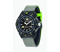 Sector Herren-Armbanduhr EXPANDER 90 Analog Quarz Nylon R3251197046