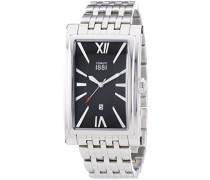 Cerruti 1881 Herren-Armbanduhr LUCCA Analog Quarz Edelstahl CRB042SN02MS