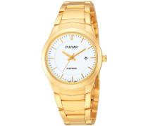 Damen-Armbanduhr Analog Quarz Edelstahl beschichtet PH7256X1