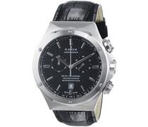 EDOX DELFIN THE ORIGINAL Unisex-Armbanduhr Analog Quarz Leder 10105 3 NIN