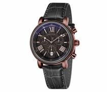 Unisex-Armbanduhr Chronograph Quarz ES-0016-08 Rose gold