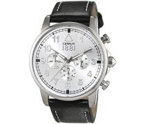 Herren-Armbanduhr TERRA Analog Quarz Leder CRA081A212G