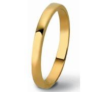 unisex ehering Ruban 9 Karat (375) Yellowgold 64 (20.4) OR130/20/NJ/64