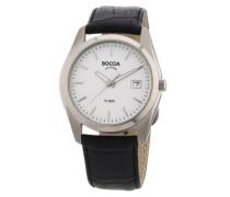 Boccia Herren-Armbanduhr Leder 3548-01