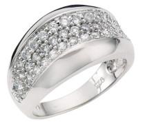 Damen-Ring 925 Sterling Silber Zirkonia weiß W: 18 368270005L-018