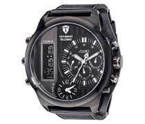 DETOMASO Herren-Armbanduhr Analog Digital Quarz DT2052-G