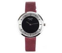 Damen-Armbanduhr Analog Quarz Leder 3244-02