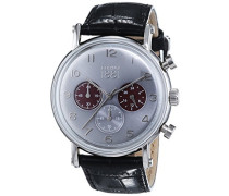 Herren-Armbanduhr TREMEZZO Analog Quarz Leder CRA110SN61BK