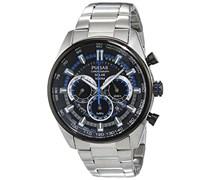 Pulsar Herren-Armbanduhr WRC Chronograph Quarz verschiedene Materialien PX5019X1
