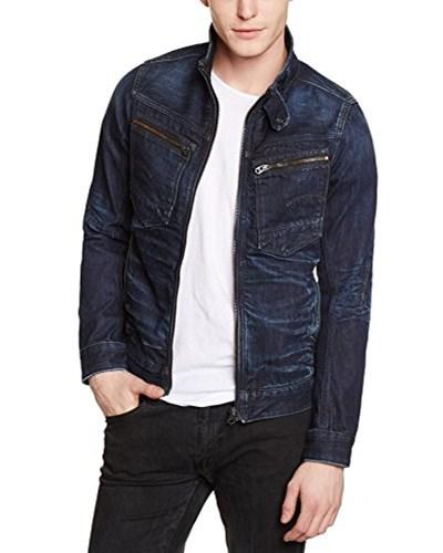star raw herren g star herren jeansjacke jacke arc zip 3d slim blau. Black Bedroom Furniture Sets. Home Design Ideas