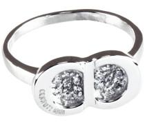 Cerruti Damen Ring, Edelstahl, Zirkonoxid , 58 (18.5), R22008Z58