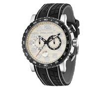 Police Herren-Armbanduhr POWERSLIDE Chronograph Quarz 14443JSTB/13P